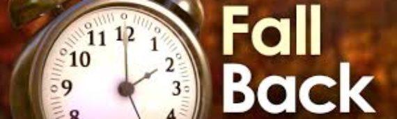 Daylight Savings Time – Ending